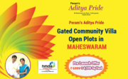Gated Community Villa Plots for sale by Peram Aditya Pride