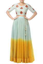 Pleated Designer Skirts For Women Only At Thehlabel.Com. Buy Now!