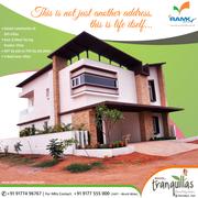 Luxury Duplex Villas for Sale in Kismatpur, Hyderabad-Ramkytranquillas