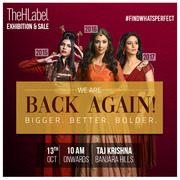 Thehlabel's Annual Fashion Exhibition Is Back In Hyderabad On Oct 13!