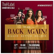 Thehlabel's Exhibition & Trendy Garments Sale Is Back in Hyderabad!