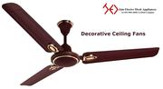 Decorative Ceiling Fans | Designer Ceiling Fans