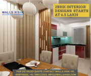 Interior Designs for 2BHK in Hyderabad