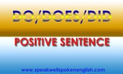 Do/Does/Did Positive sentence | Best Spoken English Training Institute