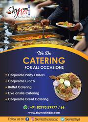 Corporate Party Orders in Gachibowli | Corporate lunch Services in Gac