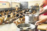 NGO in Andhra Pradesh Provides School lunch for Children