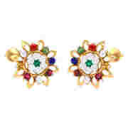 Navratna Earrings