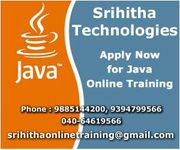 Java Online Training From India