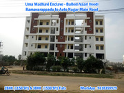 Ready To Occupy 2 Bhk and 3 Bhk Flats in Ramavarappadu