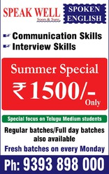 Spoken English Summer Special offer