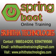 Spring Boot Online Training