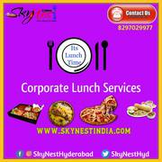 Corporate Lunch Services in Gachibowli Hyderabad | Skynest