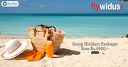 Flywidus Coupons,  Deals & Offers: Group Holidays Packages from Rs.6900