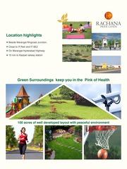 Rachana green park plots in hanmaonda