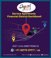 Service Apartments in Hyderabad | SkyNest | Single Sharing Service Apa
