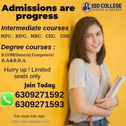 Best Degree College in Hyderabad   Junior College   ISO Colleges