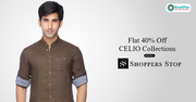 Shoppers Stop Coupons,  Deals & Offers: Up to 70% Off Men's Shoes