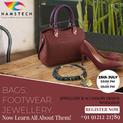 Hamstech's Workshop on Jewellery & Accessory Designing!