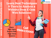 Learn Best Techniques to Analyze a Website from E Com Web Solutions