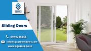 UPVC sliding doors in new styles design by UPVC Sliding door dealers