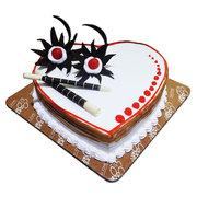 Yummy Heart Shape Cake