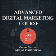 88% Off On Advanced Digital Marketing Course