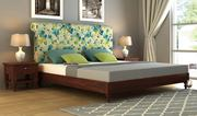 Best upholstered bed in India at WoodenStreet