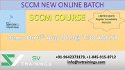 Join SCCM Demo Class for Free from SV Trainings