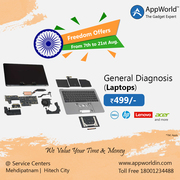 General Diagnosis Of Laptops @ Rs.499/- | AppWorld