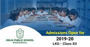Delhi Public School Admissions   DPS Warangal,  Hyderabad Admissions