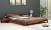 Get benefit of huge discount offer on double beds @ Wooden Street