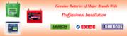 MeraBattery Amaron Exide online car battery and inverter battery store
