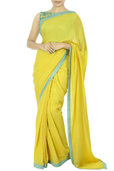 Look Adorable In Designer Sarees From Thehlabel