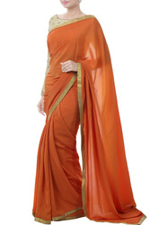 Add Vibrance In Style With Saree Sets From TheHLabel