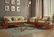 Modern Wooden Sofa Design now available online in India - WoodenStreet