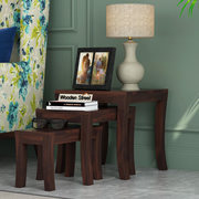 Grab Wooden Nest of Tables in Hyderabad at the Best Price