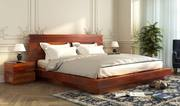 Upto 55% off on double beds @ Wooden Street