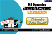 MS Dynamics Trade and Logistics Online Training