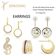 925 sterling silver earrings fine jewelry wholesale manufacturer