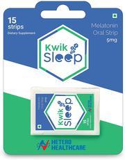 Kwik Sleep - Melatonin Oral Strips for Quick Sleeping