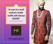 Perfect Fit Jodhpuri Designer Suits in Hyderabad | My Perfect Fit