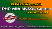 PHP Course Training in Hyderabad with Live Projects