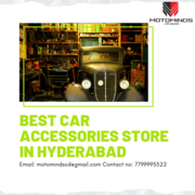 Top Branded Car Accessories in Hyderabad