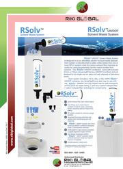 RSolv solvent waste system