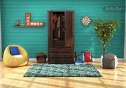 Huge sale on wooden almirah online at Wooden Street