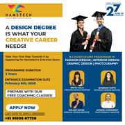 Fulfil Your Creative Dreams with Hamstech's Hons Degree!