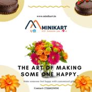 Online Gift  Solutions in Hyderabad | Flowers  & Cake ServicesMinikart