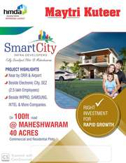 Hmda Layout With Gated Community @ Maheswaram .9391366679