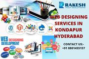 web design and development in kondapur hyderabad