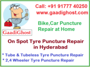 Tire Puncture & Repair Services in Hyderabad   Puncture Repair at Home